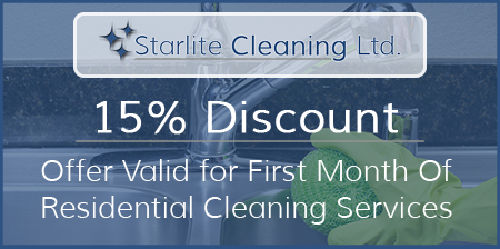 15% Discount on Cleaning Services