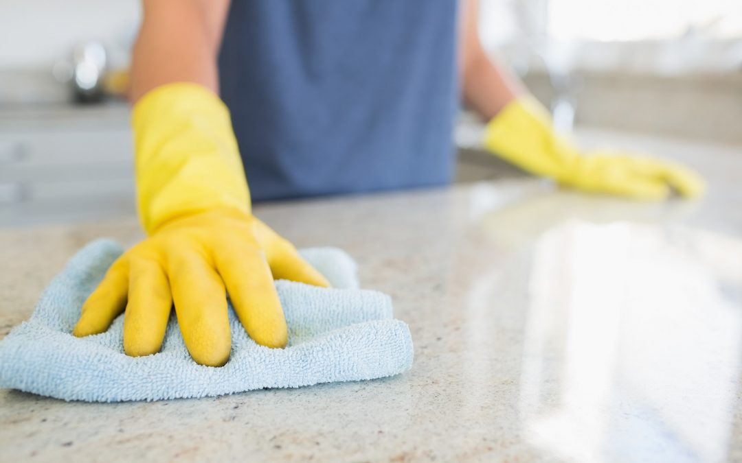 Why is it important to clean up the house before the Easter Holidays?